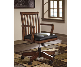 HOME OFFICE SWIVEL DESK CHAIR WOODBORO SIGNATURE