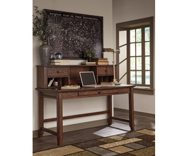 HOME OFFICE DESK HUTCH WOODBORO SIGNATURE