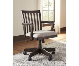 HOME OFFICE SWIVEL DESK CHAIR TOWNSER SIGNATURE