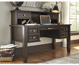HOME OFFICE DESK HUTCH TOWNSER SIGNATURE