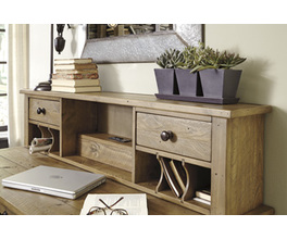 HOME OFFICE DESK HUTCH TRISHLEY SIGNATURE