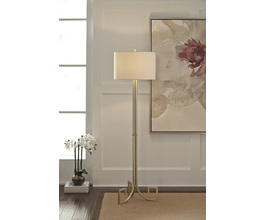 METAL FLOOR LAMP (1/CN) JANKIN SIGNATURE