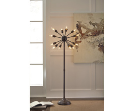 METAL FLOOR LAMP (1/CN) AMNON SIGNATURE