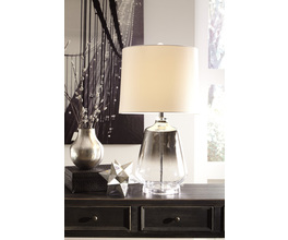 GLASS TABLE LAMP (1/CN) JASLYN SIGNATURE