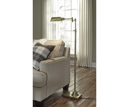 METAL FLOOR LAMP (1/CN) ARAWN SIGNATURE