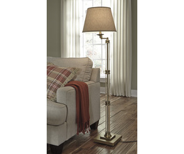 GLASS FLOOR LAMP (1/CN) ARWEL SIGNATURE