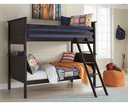 TWIN/TWIN BUNK BED ROLL SLAT JAYSOM SIGNATURE