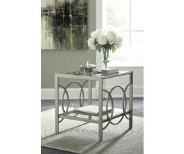 RECTANGULAR END TABLE CHARMONI SIGNATURE