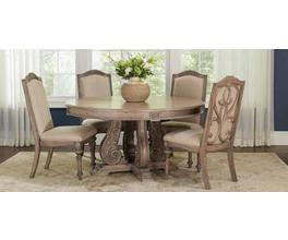 DINING TABLE (ANTIQUE LINEN)