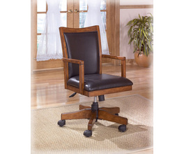 HOME OFFICE SWIVEL DESK CHAIR CROSS ISLAND SIGNATURE
