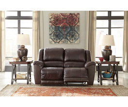 RECLINING POWER LOVESEAT YANCY SIGNATURE