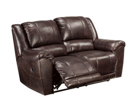 RECLINING LOVESEAT YANCY SIGNATURE
