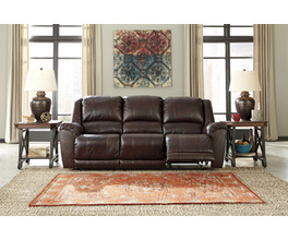 RECLINING POWER SOFA YANCY SIGNATURE