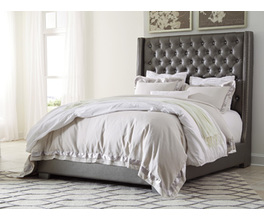QUEEN UPHOLSTERED HEADBOARD CORALAYNE SIGNATURE