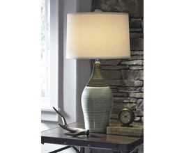 CERAMIC TABLE LAMP (2/CN) NIOBE SIGNATURE