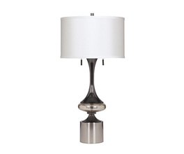 METAL TABLE LAMP (2/CN) MARSHA SIGNATURE