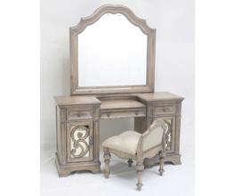 VANITY DESK (ANTIQUE LINEN)