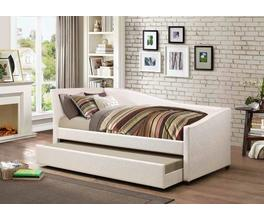 TWIN DAYBED WITH TRUNDLE (IVORY)