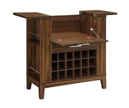 BAR CABINET (DARK WALNUT)
