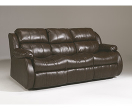REC SOFA W/DROP DOWN TABLE MOLLIFIELD DURABLEND�