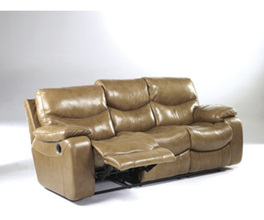 RECLINING SOFA-MOTION LEATHER-ZACKARY - BRINDLE