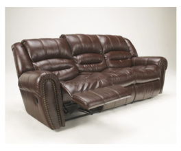 RECLINING SOFA-MOTION UPHOLSTERY-WESLEY - SIENNA