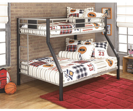 TWIN/FULL BUNK BED DINSMORE SIGNATURE