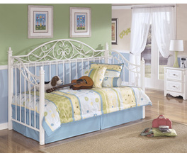METAL DAY BED WITH DECK EXQUISITE SIGNATURE