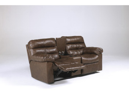 DOUBLE REC LOVESEAT W/CONSOLE