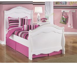 TWIN SLEIGH HEADBOARD EXQUISITE SIGNATURE