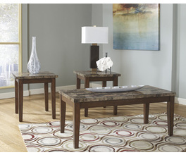 OCCASIONAL TABLE SET (3/CN) THEO SIGNATURE