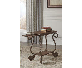 CHAIR SIDE END TABLE RAFFERTY SIGNATURE