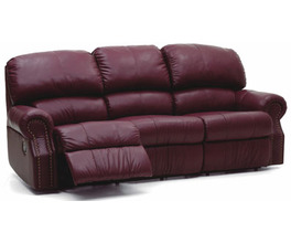 CHARLESTON SOFA RECLINER*LTHR-0