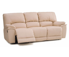 DALLIN SOFA RECLINER*LTHR-0
