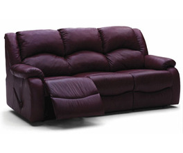 DANE SOFA RECLINER*LTHR-0
