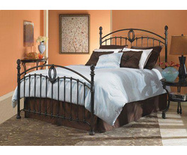CORONADO BED TARNISHED COPPER TWIN