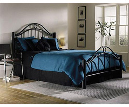 LINDEN BED TWIN BED COMPLETE W/ FRAME