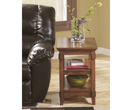 CHAIR SIDE END TABLE CROSS ISLAND SIGNATURE