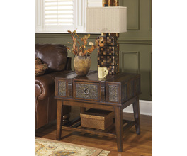 RECTANGULAR END TABLE MCKENNA SIGNATURE