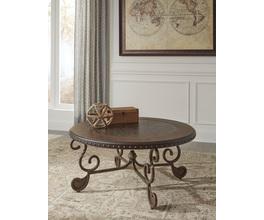 ROUND COCKTAIL TABLE RAFFERTY SIGNATURE