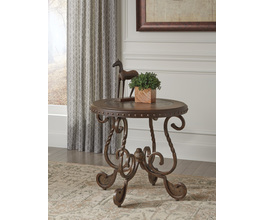 ROUND END TABLE RAFFERTY SIGNATURE