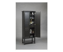 ACCENTS - RUSTIC CHIC BAR CABINET