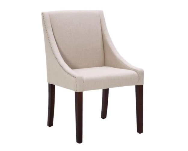 LUCILLE DINING CHAIR - LINEN FABRIC