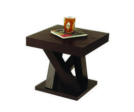 MADERO END TABLE - ESPRESSO