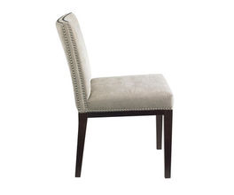 VINTAGE DINING CHAIR - LINEN FABRIC