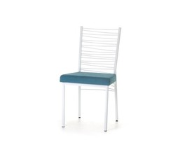 CRESCENT CHAIR   (DISTRESSED SOLID WOOD SEAT)