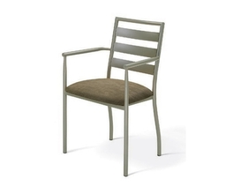 TORI ARMCHAIR  (DISTRESSED SOLID WOOD SEAT)