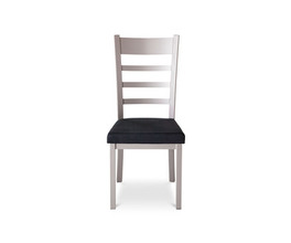 OWEN CHAIR  (DISTRESSED SOLID WOOD SEAT)