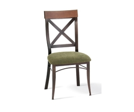 KYLE CHAIR  (DISTRESSED SOLID WOOD   SEAT AND ACCENT)