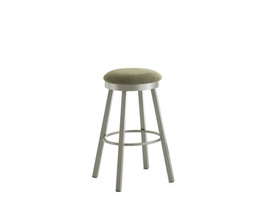 CONNOR SWIVEL STOOL   (DISTRESSED SOLID WOOD SEAT)